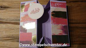 Geschenkkartenbox - faltbar